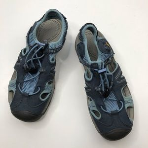 Keen's Women's Blue Sports Outdoor Hiking Sandals
